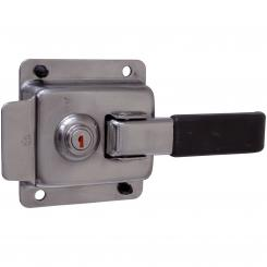Lock without keeper, stainless steel