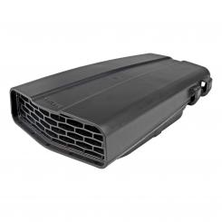 Roof vent, black, ABS plastic